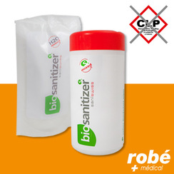 Lingette désinfectante surfaces Saniswiss biosanitizer S2