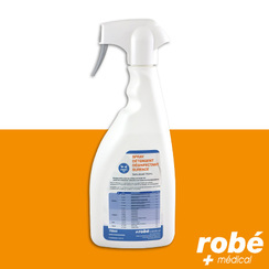 Spray ROBE MEDICAL détergent désinfectant sans alcool biodégradable toutes surfaces médicales 750ml