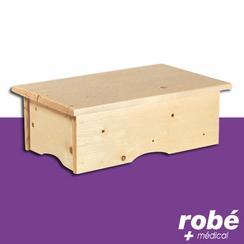 marchepied bois en vente chez rob mat riel m dical. Black Bedroom Furniture Sets. Home Design Ideas