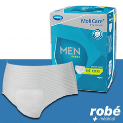 Slips absorbants MoliCare® Premium men - Paquet de 7, 8 - HARTMANN