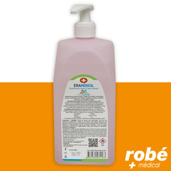 Gel hydroalcoolique ERAMEDICAL - Flacon pompe de 500ml