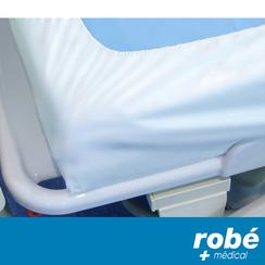 drap housse polyuréthane Drap housse polyuréthane pour la prévention de l'escarre   Alèses  drap housse polyuréthane