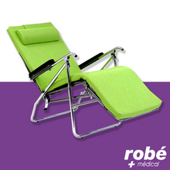 fauteuil de repos pliable en vente chez rob mat riel m dical. Black Bedroom Furniture Sets. Home Design Ideas