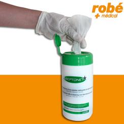 http://www.robe-materiel-medical.com/detail-Lingettes+aseptonet-LINDES.html