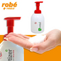 Lotion moussante pour la desinfection des mains Saniswiss biosanitizer H