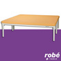Table Bobath de kinesitherapie Ecopostural 2 parties