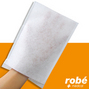 Gants de toilette non tisses absorbants à usage unique 75 grammes