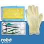 Sets de pose de sutures complet, gants, champ et compresses Robe Medical