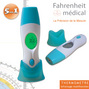 Thermometre medical infrarouge 5 en 1 Fahrenheit Medical