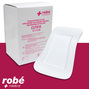 Pansement adhesif non tisse multi-extensible avec compresse absorbante CUTIFIX Robe Medical