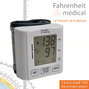 Tensiometre poignet electronique BP 308 Fahrenheit Medical