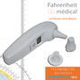 Thermometre auriculaire infrarouge TYMPATHERM 100-A Fahrenheit Medical