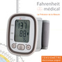 Tensiometre poignet electronique avec memoire 120 mesures - TMB 1598 Fahrenheit Medical