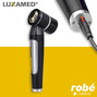 Dermatoscope microLED 3.7V avec batterie rechargeable LuxaScope LUXAMED