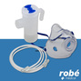 Kit nebuliseur adulte avec masque et tubulure Robe Medical