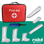 Attelles d'urgence gonflables Robe Medical PVC avec kit de gonflable