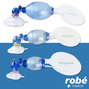 Insufflateur BAVU en PVC monopatient masque bourrelet gonflable Robe