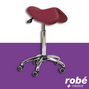 Tabouret-selle Deauville forme pony luxe