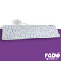 Clavier filaire medical lavable et antibacterien