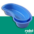Haricot plastique gradu� r�utilisable bleu, lot de 20.
