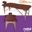 Table de massage pliante en bois largeur 70 cm Havane Salamender
