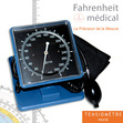 Tensiomètre de table et mural professionnel avec large cadran PREXIS FAHRENHEIT MEDICAL