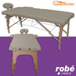 Table de massage pliante en bois largeur 60 cm Gris Salamender