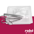 Sets de pose de sutures instruments inox et compresses Robé Médical Concept Plus