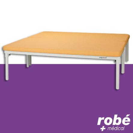 table bobath de kin sith rapie 2 parties ecopostural hauteur fixe pi tement m tal rob vente. Black Bedroom Furniture Sets. Home Design Ideas