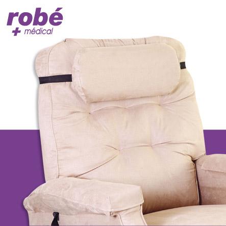 coussin cale t te confort pour fauteuils releveurs accessoires fauteuils releveurs rob. Black Bedroom Furniture Sets. Home Design Ideas