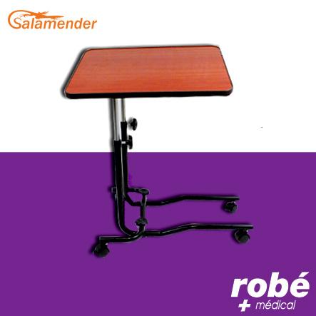 table de lit mobile roulettes avec r glages de pr cision. Black Bedroom Furniture Sets. Home Design Ideas