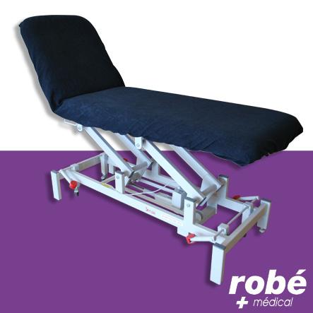 drap housse lastiqu en ponge pour divan d 39 examen. Black Bedroom Furniture Sets. Home Design Ideas